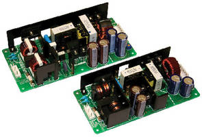 AC-DC Power Supplies deliver up to 200% peak power.