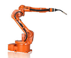 Arc Welding Robot features fully integrated dressing.