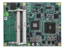 COM Express Module provides multiple display outputs.