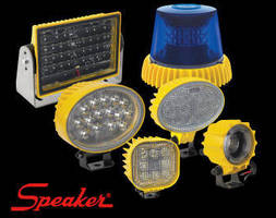 Heavy Duty LED Worklights comply with IP69K standards.