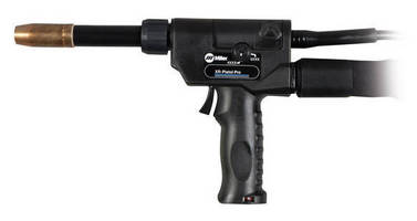 Welding Gun is designed for aluminum MIG and Pulsed MIG jobs.
