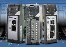 PLC and Counter Module include embedded communications ports.