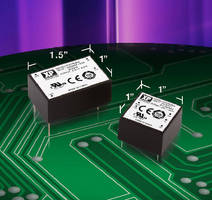 Miniature AC-DC Power Supplies deliver 5 and 10 W.