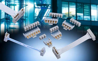 IDC Wire-to-Board Connectors suit industrial, SSL applications.