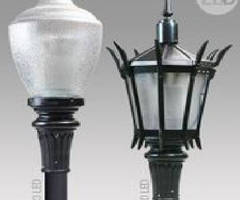 Street Lamp Fixtures feature engineered LED system.