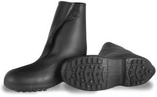 Flexible Rubber Footwear prevents slip-and-fall incidents.