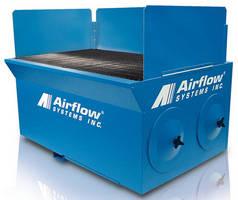 Downdraft Table keeps breathing zones contaminant-free.