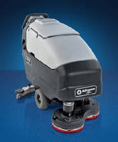 Floor Scrubber leaves swirl-free surface in single pass.