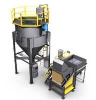 Bulk Material Mixing System produces homogenous blends.