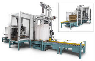 Bulk Material Handling/Packaging System has automated operation.