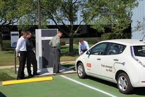 The First ABB DC Fast Charger for Electric Vehicles in the U.S. Is Installed and Operational in New Berlin, Wisconsin