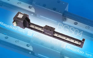 Linear Rail System maintains accuracy while moving loads.