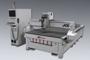 CNC Router features all-steel construction.