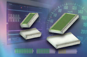 Thin Film Chip Resistors offer max power ratings to 2 W.