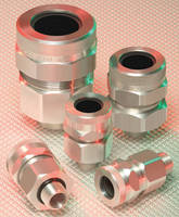 Metal Clad Cable Connectors include sizes up to 4 in. in 3 materials.