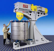 Attritor is suited for batch, wet-grinding applications.