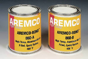 Thermally Conductive Epoxy suits bonding applications to 400°F.