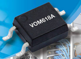 Low-Input Current Optocouplers come in SOP-4 mini-flat package.
