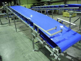 Sanitary Conveyor meets food product handling needs.