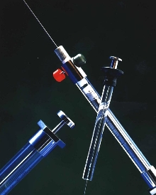 Syringes are for gas, liquid or high pressure sampling.