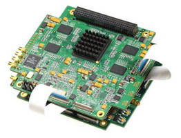 Dual-Card PCI-104 Board Set offers ultra-low (40 msec) latency.