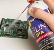 Ultra-Pure Isopropyl Alcohol comes in sealed aerosol can.