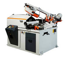 Automatic Hydraulic Bandsaw offers cutting speeds to 70 m/min.