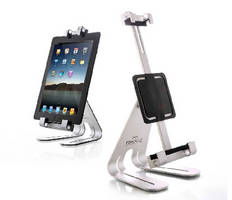 Aluminum Tablet Stand offers 360° rotation.