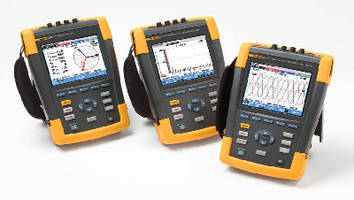 Power Quality and Energy Analyzer captures 400 Hz measurements.