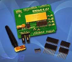Wireless Arduino Shield provides 200 m range.