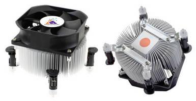CPU Coolers work with Intel® LGA 775/1155/1156 CPUs.