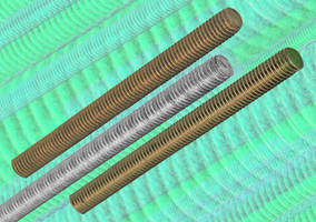New Threaded Rods from aMsp Available In Brass, Mild Steel, and Stainless Steel
