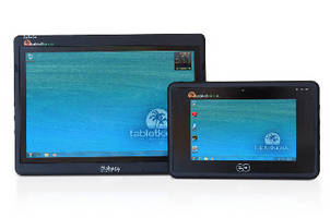 Business Tablet PC supports multi-touch input.