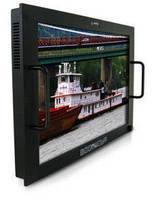 WXGA 7U Rack Mount Monitor targets naval applications.