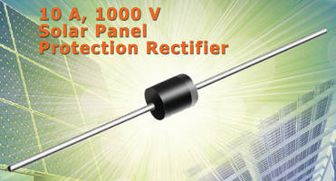 PV Solar Panel Protection Rectifier comes in P600 axial package.
