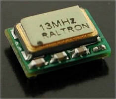 Crystal Oscillator offers wide frequency stability.