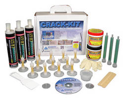 Concrete Repair System simplifies crack injection process.