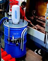 Chip/Dry Material Vacuum has 110 gal capacity.