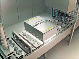 UV/Vis Sterilizer fosters sustainability in packaging industry.
