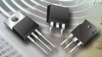 Trench MOS Barrier Schottky Rectifiers are rated from 10-80 A.