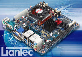 Mini-ITX Motherboard suits SFF PC-based, low-power computing