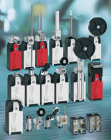Safety Limit Switches are designed for sturdiness, reliability.