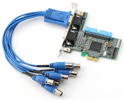 PCIe Frame Grabber offers 8 asynchronous input channels.
