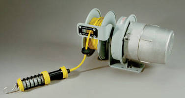 Explosion Proof Cord Reel Brings Temporary Power to Class I Division 1 Locations