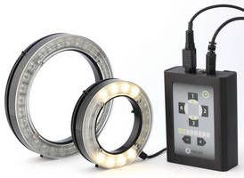 LED Ring Lights offer control of 4 independent quadrant zones.