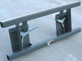 Skid Steer Adapter targets standard pin-on loaders.