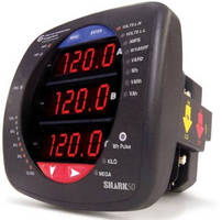Electric Panel Meter meets 0.5% accuracy classes.