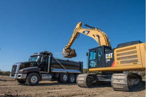 Caterpillar Unveils First Hybrid Excavator