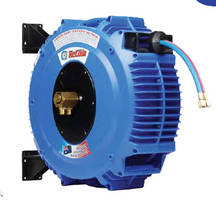 Gas Welding Hose Reel improves workspace safety, hose life.