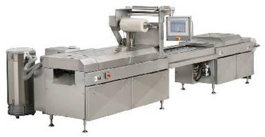 Horizontal Form-Fill-Seal Machine operates at 10-15 cycles/min.